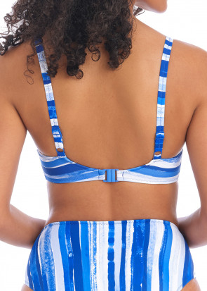 Freya Swim Bali bay bikiniöverdel plunge D-L kupa blå