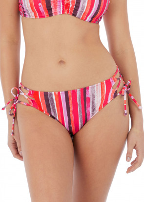 Freya Swim Bali Bay bikiniunderdel med sidknytning XS-XL mönstrad