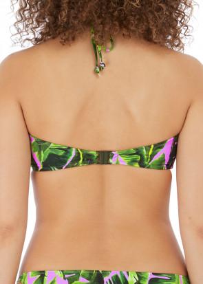 Freya Swim Jungle Oasis bikiniöverdel halterneck D-H kupa mönstrad