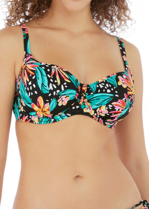 Freya Swim Wild Daisy bikiniöverdel D-L kupa mönstrad