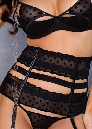 Axami New York höfthållare S-XL svart