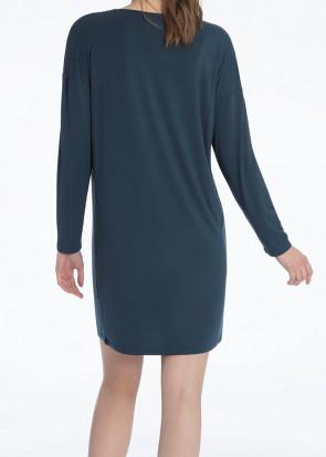 Calida Jaina långärmat nattlinne 90cm XSS-M blå