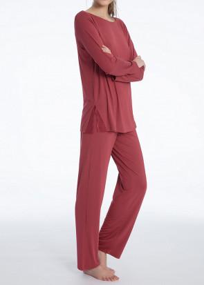 Calida Jaina pyjamas XXS - L röd
