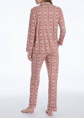 Calida Noee pyjamas XS - L mönstrad rosa