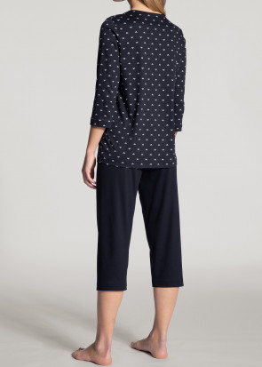 Calida Night Lovers pyjamas XXS-XL blå
