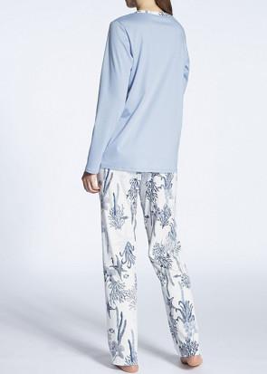 Calida Cosy Cotton Fair Pyjamas XS-L blå