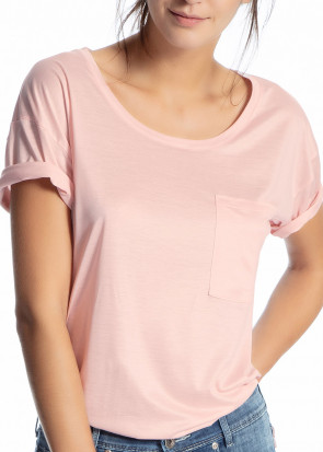 Calida 100% Nature T-shirt XS-M rosa