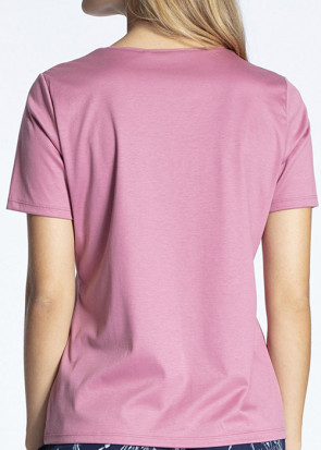 Calida Favourites Trend short sleeve shirt XXS-L rosa
