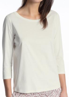 Calida Favourites Trend 3/4 tröja XXS-L vit