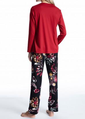 Calida Cosy Cotton Feel pyjamas XXS-L röd