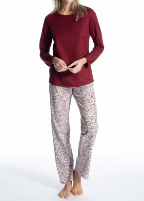 Calida Cosy Cotton Trend pyjamas XXS-L mönstrad