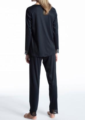 Calida Cosy Bamboo pyjamas XXS-M mörkblå