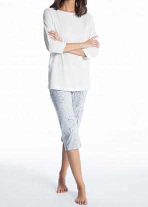 Calida Cosy Cotton Style 3/4 pyjamas XS-XL vit