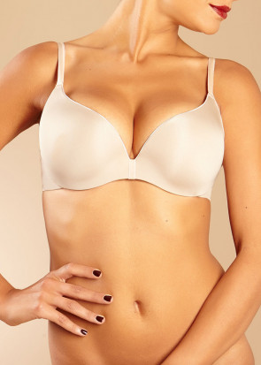 Chantelle Irresistible push-up bh A-F kupa beige