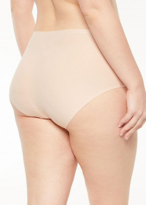 Chantelle SoftStretch hipster plus size ljusbeige