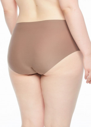 Chantelle SoftStretch brieftrosa med hög midja plus size brun