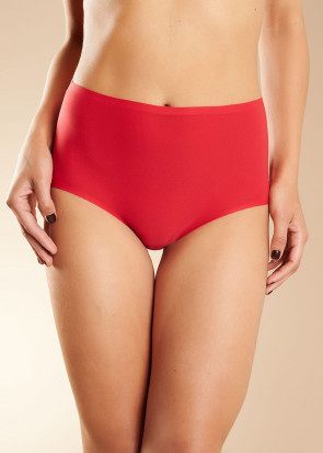 Chantelle SoftStretch brieftrosa med hög midja one size röd