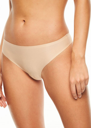 Chantelle SoftStretch stringtrosa one size beige