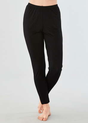 Damella leggings bambu S-XL svart