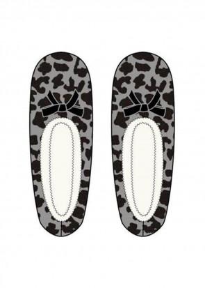 Damella låga tofflor 34/36-37/39 mönstrad leopard