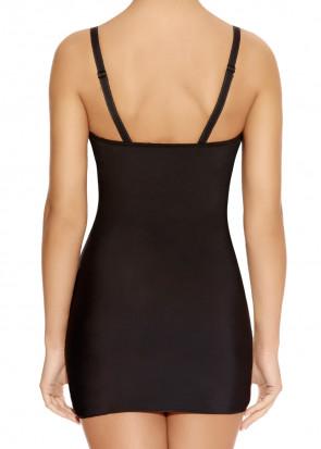 Freya Deco Shape axelbandslös underklänning D-J kupa svart