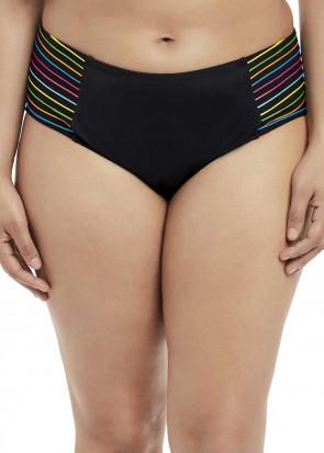 Elomi Swim Neon Nights Mid Rise Brief Bikiniunderdel 40-50 mönstrad