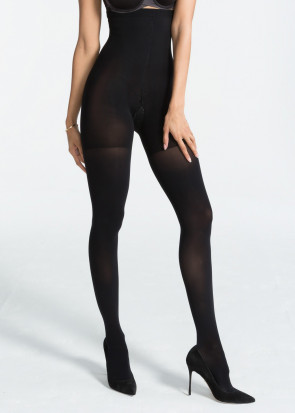 Spanx Luxe Leg High-Waisted Tights A-E svart