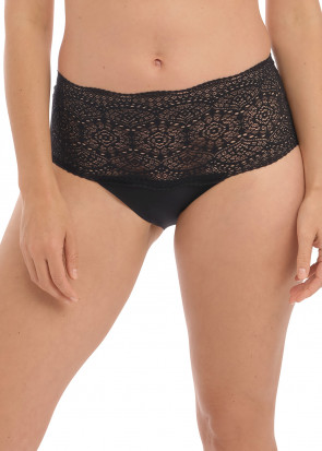 Fantasie Lace Ease Invisible brieftrosor One Size svart