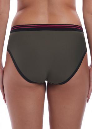 Freya Swim Club Envy bikiniunderdel brief XS-XXL grön