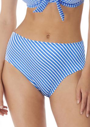 Freya Swim Beach Hut bikiniunderdel hög skärning XS-XXL blå