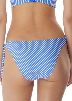 Freya Swim Beach Hut bikiniunderdel med sidknytning XS-XL blå