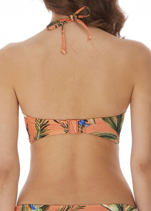 Freya Swim Birds In Paradise bikiniöverdel bandeau C-F-kupa mönstrad