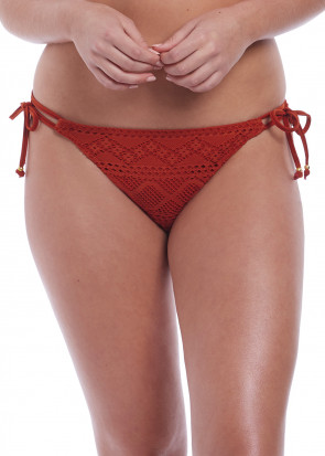 Freya Swim Sundance bikiniunderdel med knytning XS-XL orange
