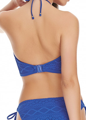 Freya Sundance Croptop Bikiniöverdel D-I kupa blå