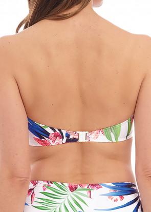 Fantasie Swim Santa Catalina bikiniöverdel bandeau D-I kupa mönstrad
