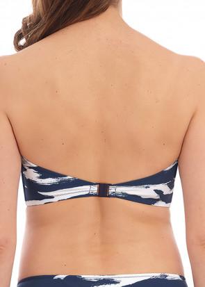 Fantasie Swim Lindos bikiniöverdel bandeau D-I kupa mönstrad