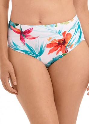 Fantasie Swim Kiawah Island bikiniunderdel med hög täckning S-XXL mönstrad