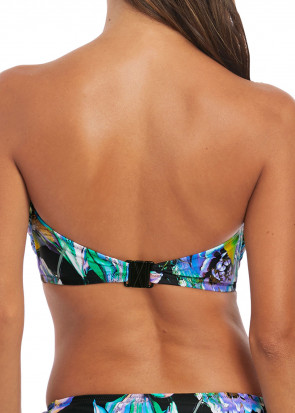 Fantasie Swim Paradise Bay bikiniöverdel bandeau D-I kupa aqua multi