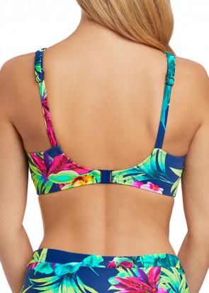 Fantasie Swim Amalfi fullkupa bikiniöverdel D-J kupa mönstrad