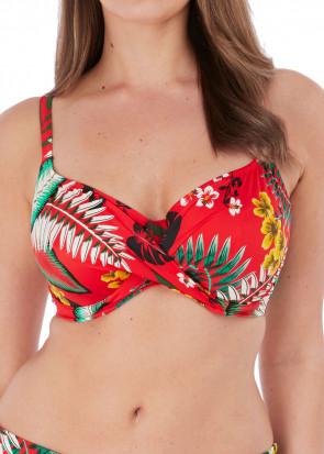 Fantasie Swim Vilamoura bikiniöverdel fullkupa D-K-kupa mönstrad