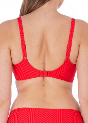 Fantasie Swim Long Island bikiniöverdel balconette D-K-kupa röd