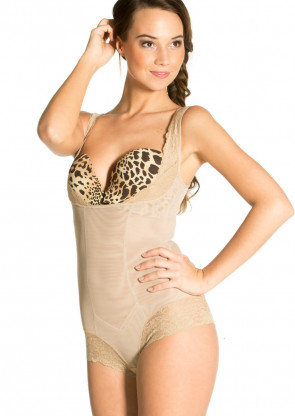 Magic Super Control shapingbody S-XXL beige