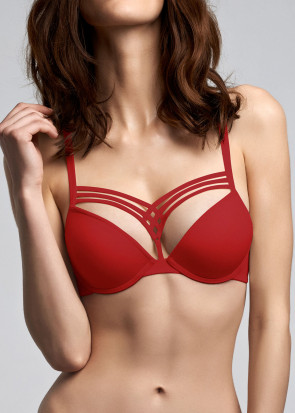 Marlies Dekkers Dame De Paris push-up bh A-F kupa röd