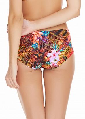 Freya Swim Safari Beach bikinitrosa med hög midja XS-XL mönstrad