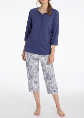 Calida Sandrine pyjamas XS-XL blå