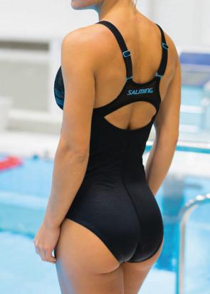 Salming Aqua klorresistent baddräkt 36-44 svart