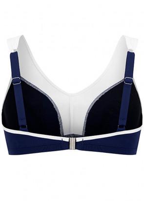 Swegmark Adamo bikiniöverdel B/C-F/G-kupa blå