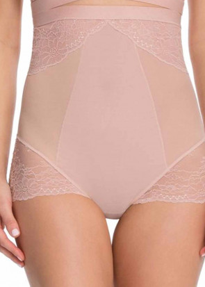 Spanx Spotlight on Lace brieftrosa hög midja XS-XL rosa
