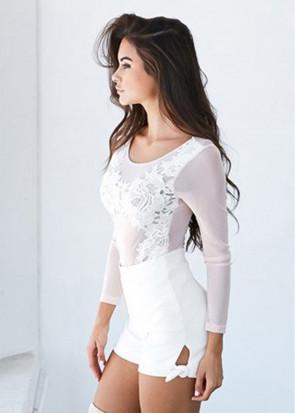 Xenia softly bodysuit S-M blush