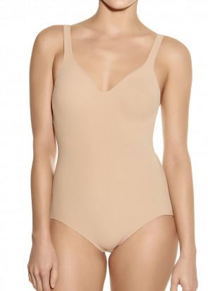 Wacoal Try a Little Slenderness shaping body B-E kupa beige